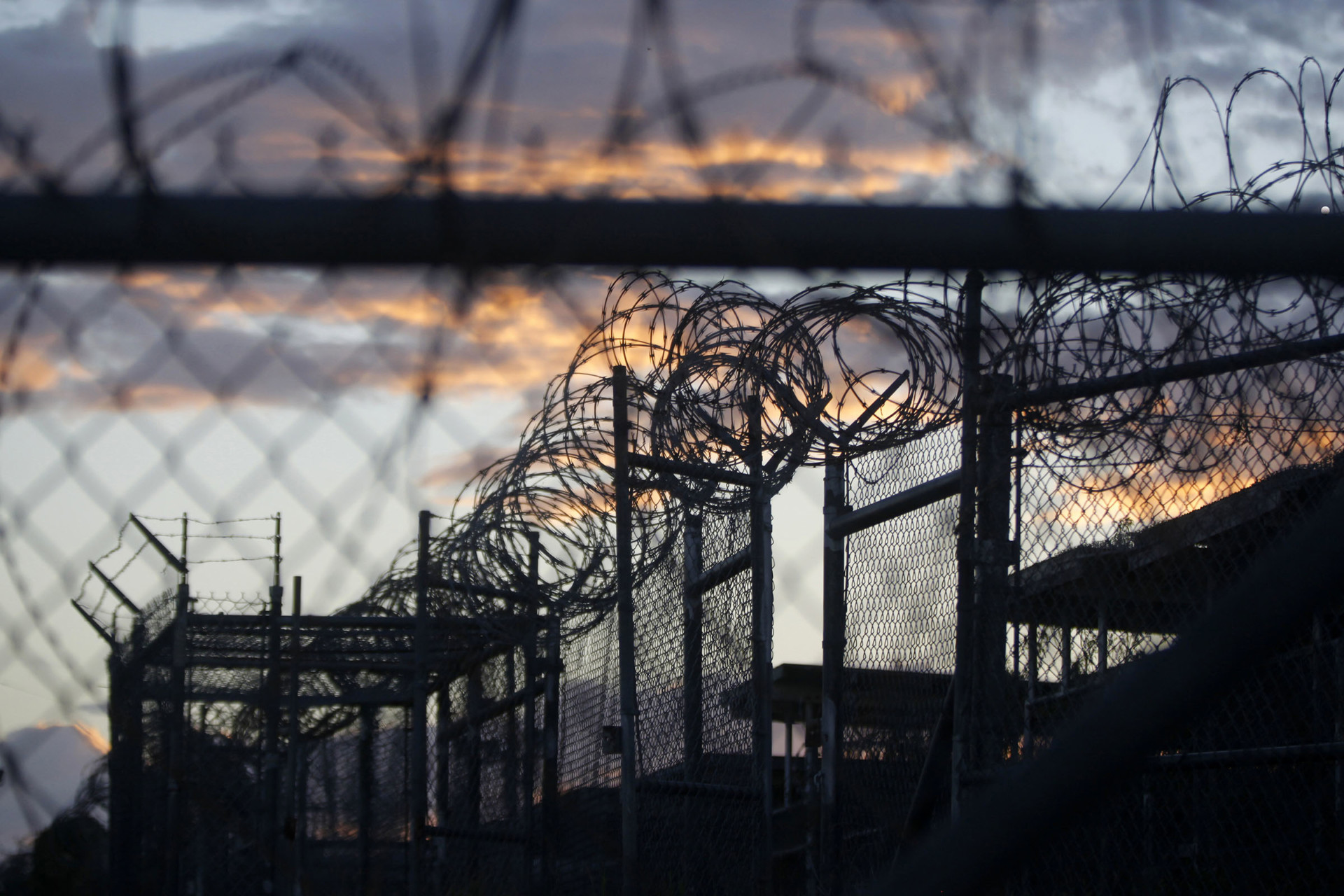 Hurricane forces Guantanamo Bay evacuations, but detainees remain